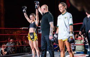 Amy Pirnie vs Lara Fernandez - Lion Fight 68 Glasgow