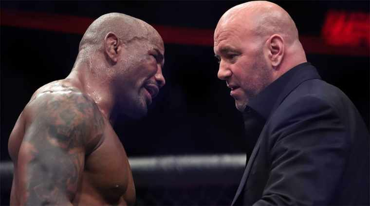 UFC head promises massive layoff from organization at year end
