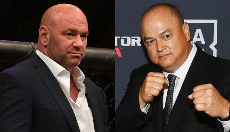 Bellator head responds to UFC president