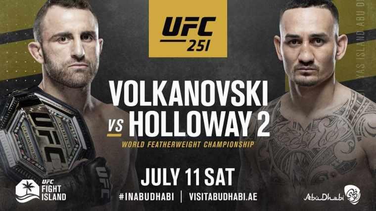 Alexander Volkanovsky and Max Holloway will head the UFC 251 tournament