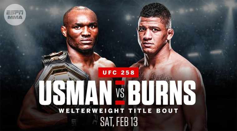 UFC title fight between Kamaru Usman and Gilbert Burns has been officially announced.