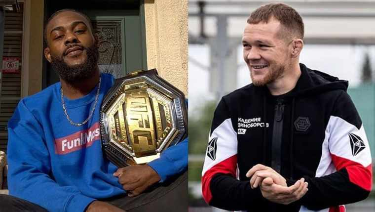 Petr Yan reacted to Aljamain Sterling's first photo with UFC belt