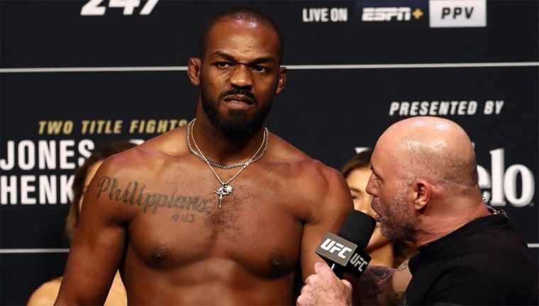 Jon Jones threatens the UFC heavyweights.
