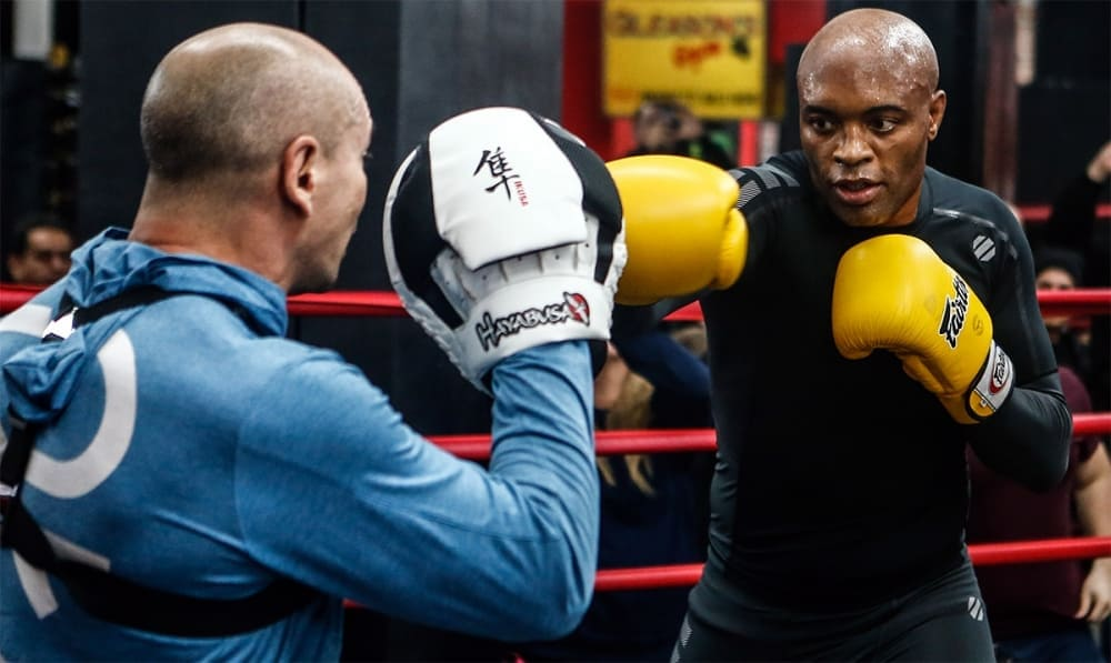 Anderson Silva has signed a contract for the next fight.