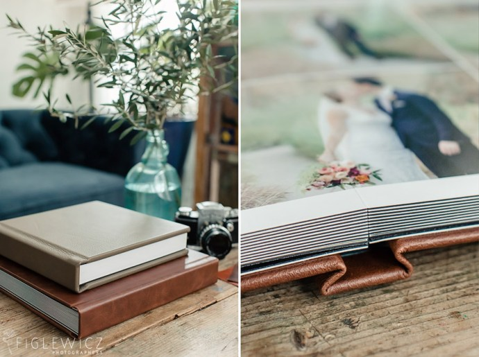 Figlewicz Photography Leather Wedding Album
