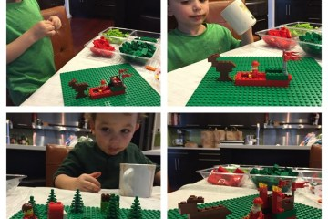 legos, christmas, Wee Warhols, Austin, TX