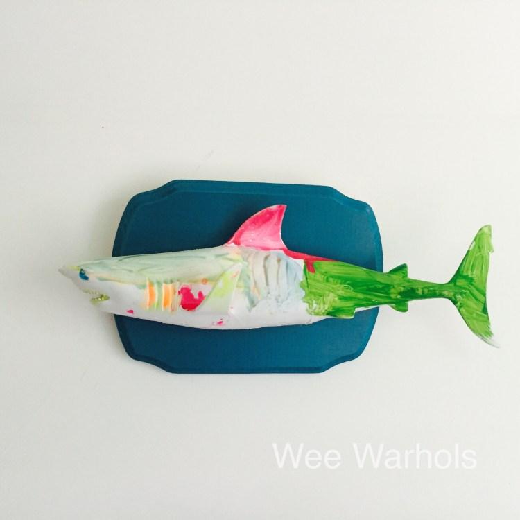 faux taxidermy dit, trophy fish, mounted fish, Wee Warhols, Austin TX