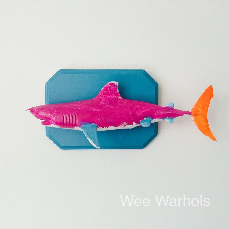 Faux taxidermy dit, trophy fish, Wee Warhols, Austin TX