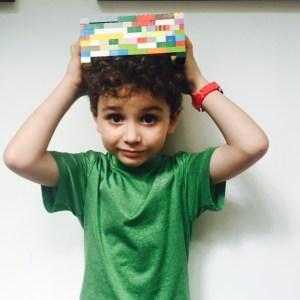 Wee Warhols, lego hat, design idea, lego frame, Austin, TX