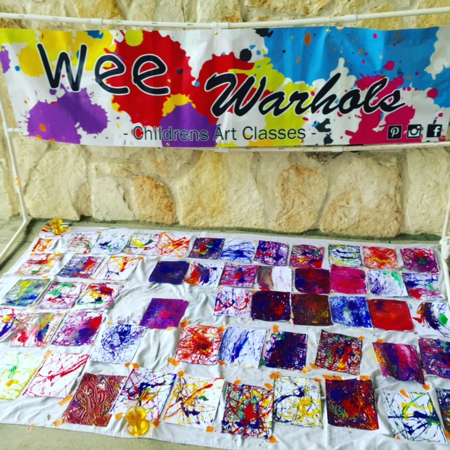 marble rolling art, action art, Wee Warhols, Austin, TX, Austin Maker Faire