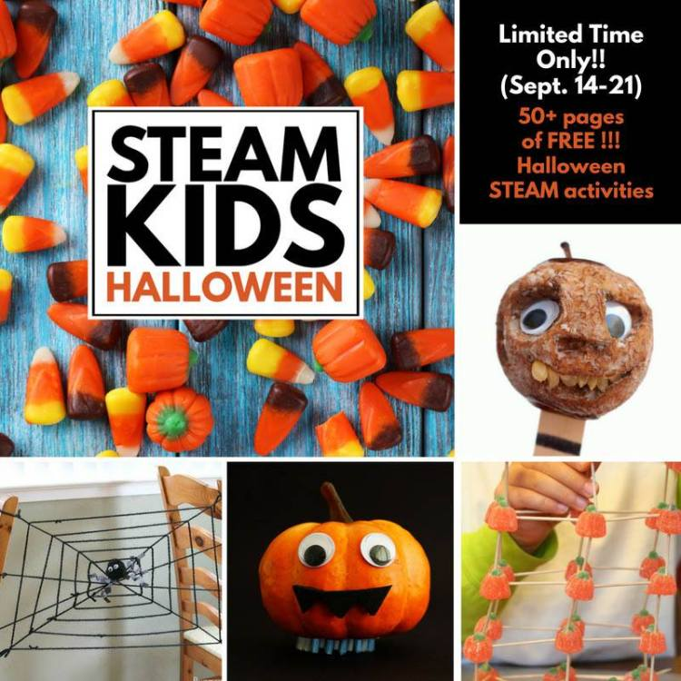 freebie, STEAM Kids, Halloween, Wee Warhols, Austin