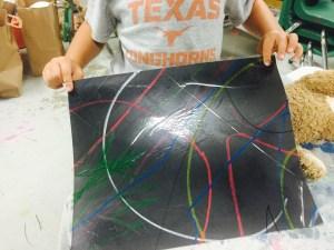 Wee Warhols, Austin, art class, process art