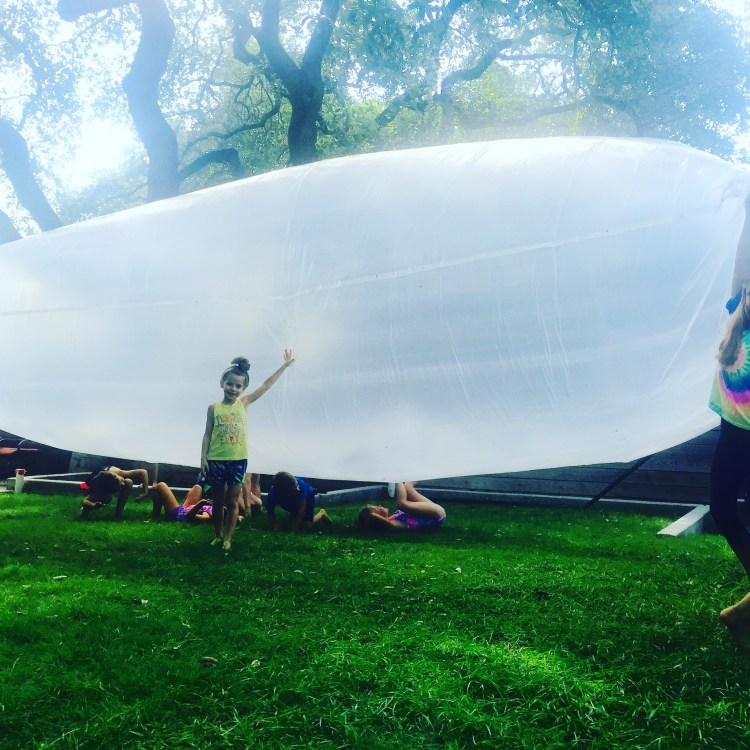 Wee Warhols, air art, Figment Creative, environmental sculpture, Austin, Summer camp
