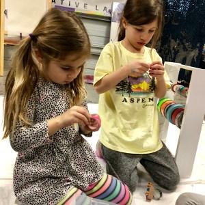 bending wood, making bracelets, diy, Figment Creative Labs, Austin Texas, Kid's craft, STEAM, STEM, science, kids activity