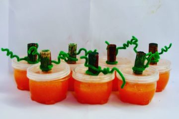 Pumpkin slime, slime, figment Creative Labs, Austin Texas, Holiday slime, STEAM, STEM Science