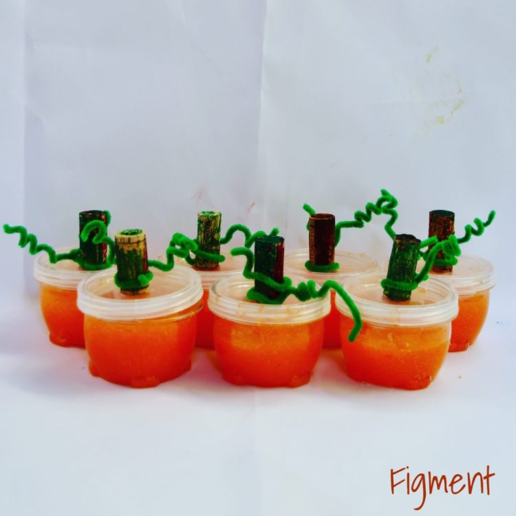 Halloween,Pumpkin slime, slime, figment Creative Labs, Austin Texas, Holiday slime, STEAM, STEM Science