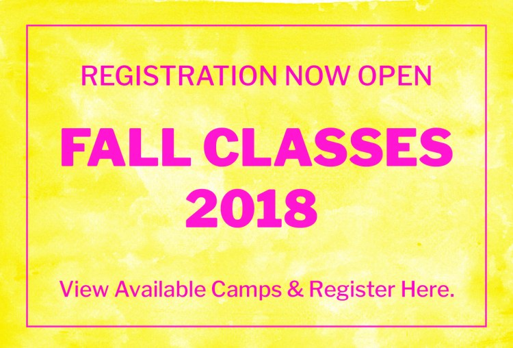 Register For Fall Classes | Figment Creative Labs | Austin, TX