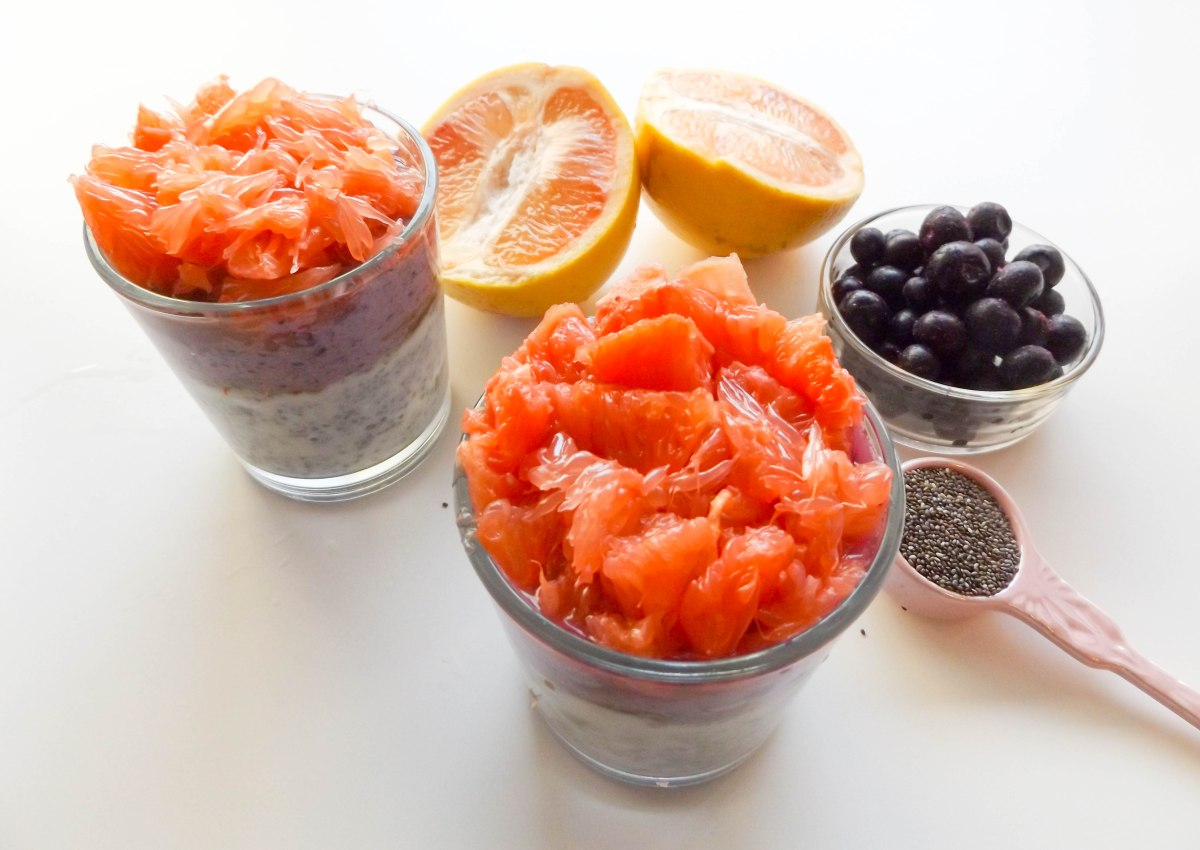 chia pudding with grapefruit & blueberry (1 of 1)-2