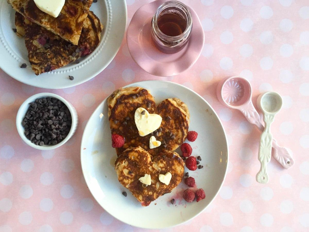 chocolate rasperry pancakes (1 of 1)-4