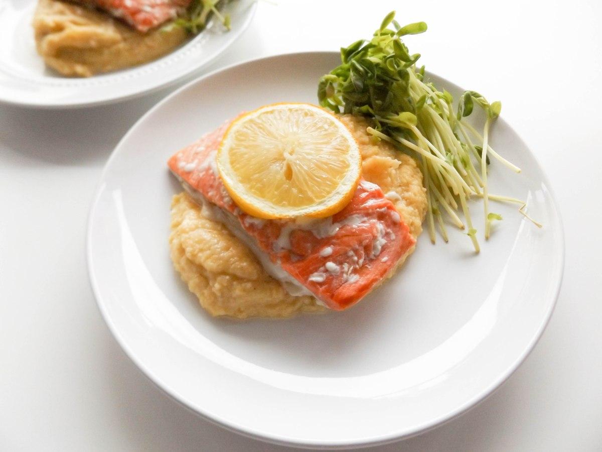 salmon with cauliflower puree (1 of 1)-4