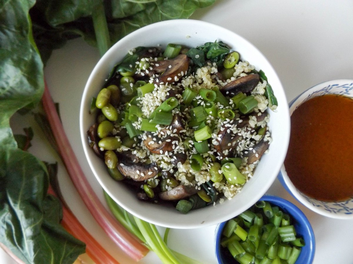 Miso Swiss Chard Quinoa Bowl (1 of 1)-3