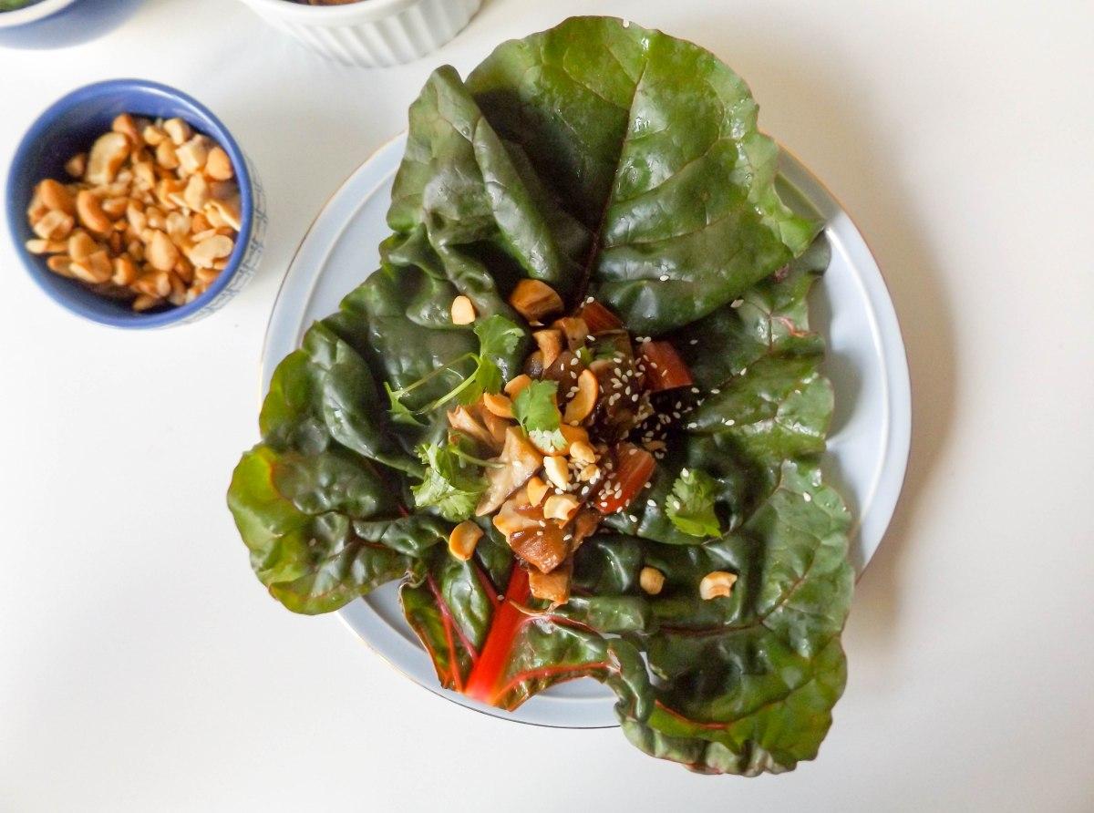 mushroom swiss chard lettuce wraps (1 of 1)-3