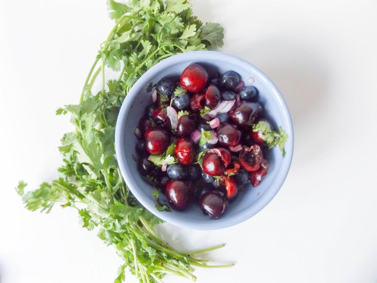 Cherry Blueberry Salsa 2