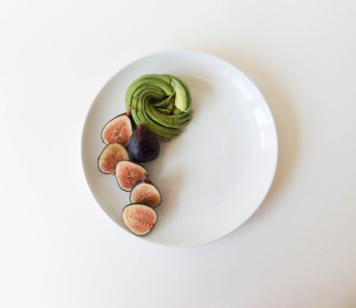 fig avo burrata nectarine salad (1 of 1)-2