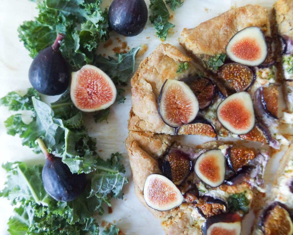 Fig & Burrata Galette