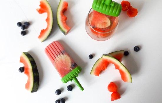 Watermelon Rosé  Popsicles