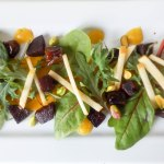 Beet Date Apple & Pistachio Salad