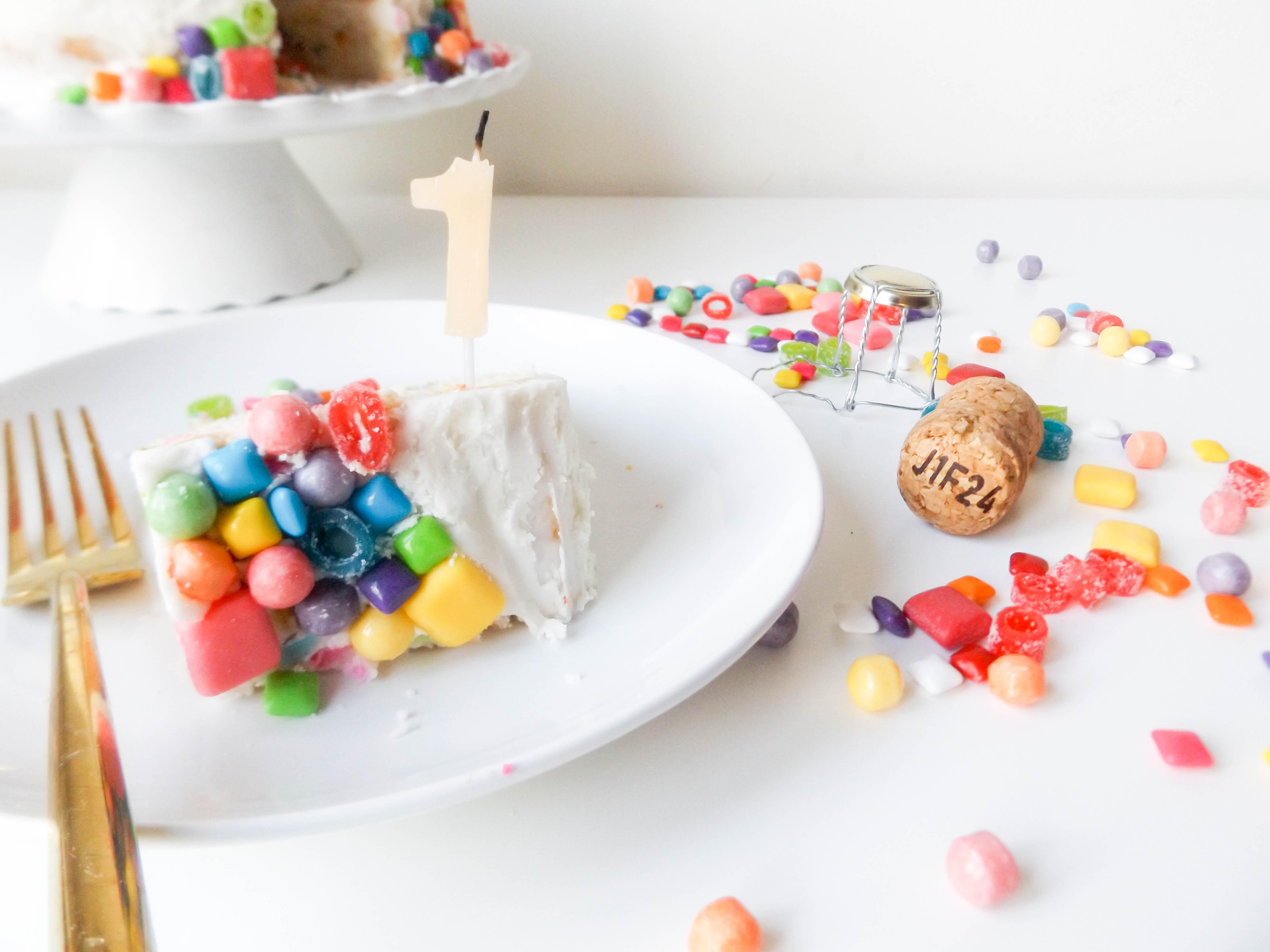 Year one Blogiversary & Molly Yeh's Funfetti Cake