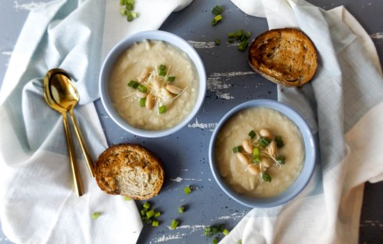 Parsnip and White Bean Soup