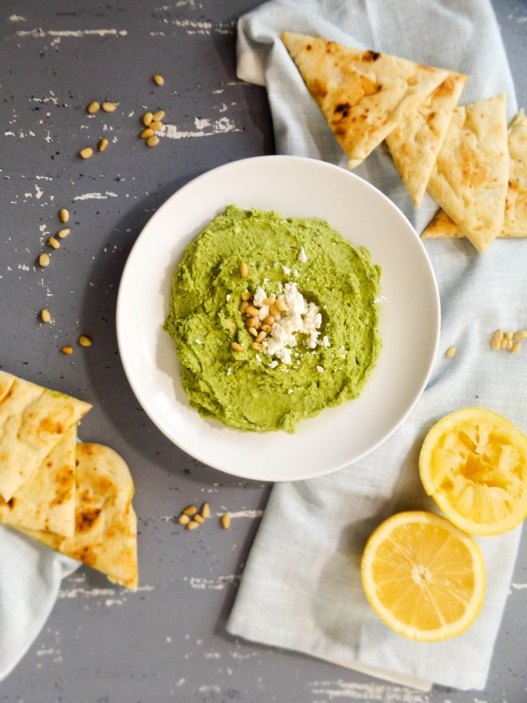 Spinach & Feta Hummus