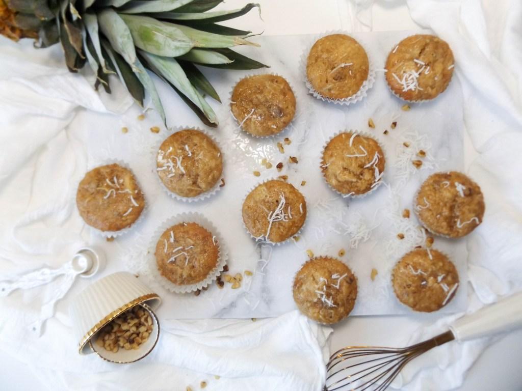 Healthy Hummingbird Muffins