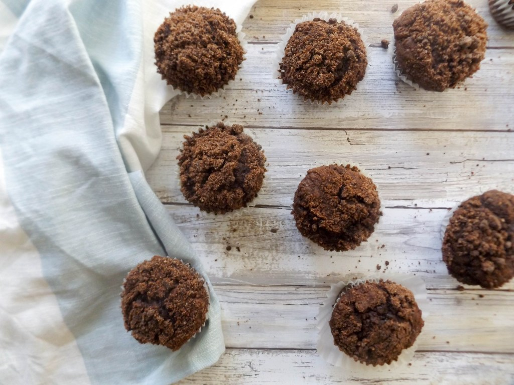 Double Coffee Cake Muffins