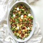 Fig Melon & Mozzarella Salad
