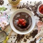 Coffee Flour Dutch Baby Pancake