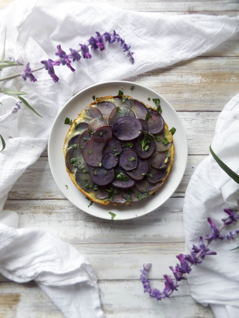 Purple Tortilla Espanola