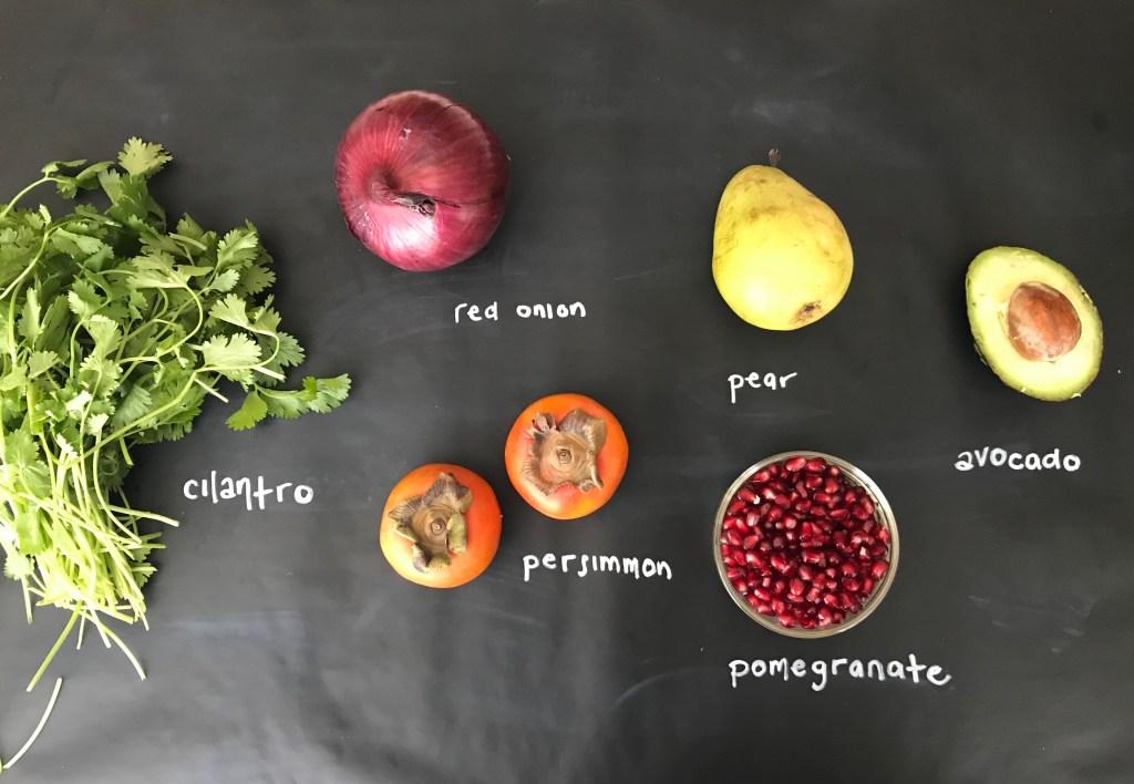 Persimmon Fruit Salsa