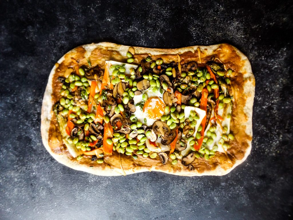 Thai Peanut Pizza