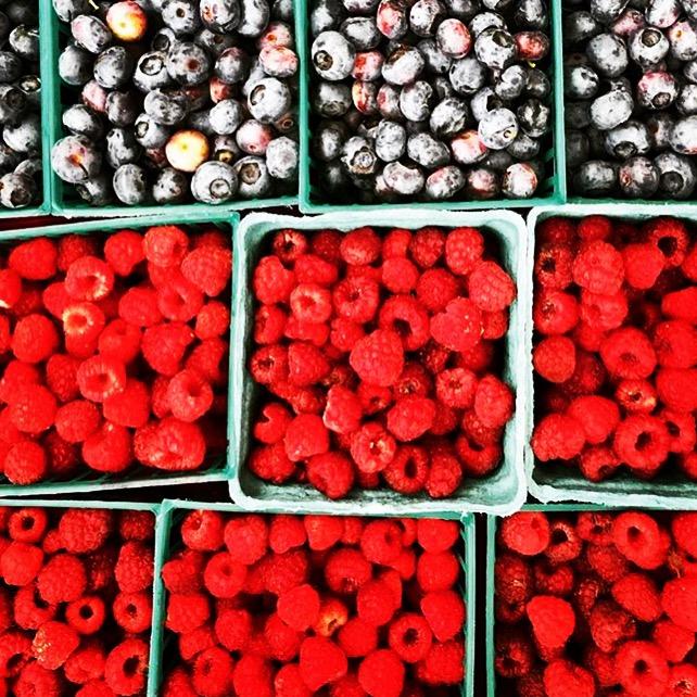 featured ingredient: raspberries