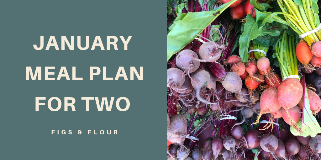 January Meal Plan for 2