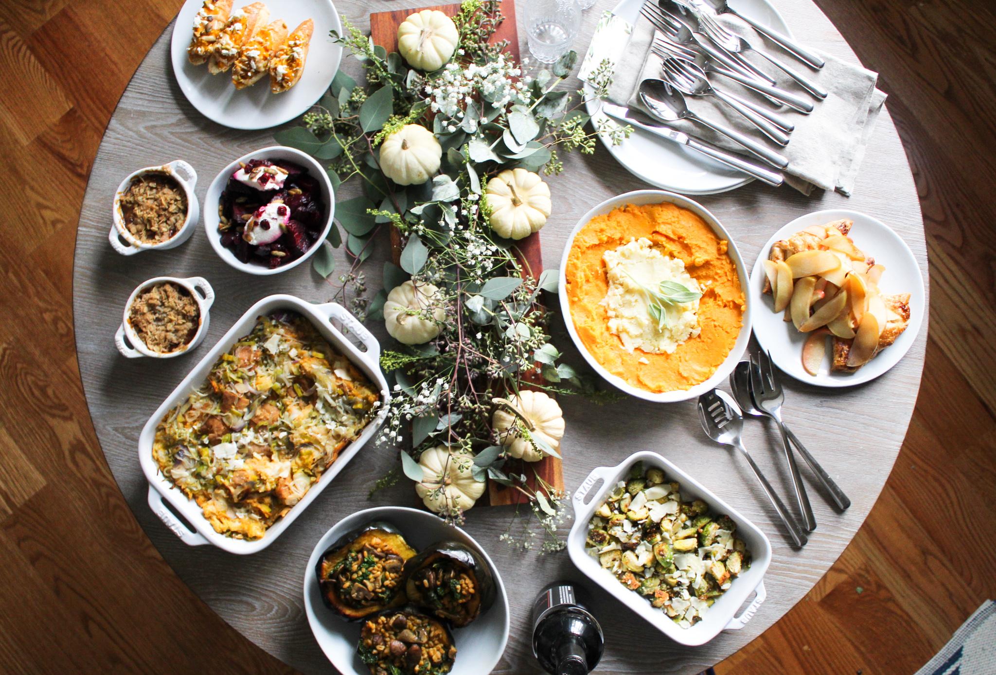 2019 Thanksgiving Menu