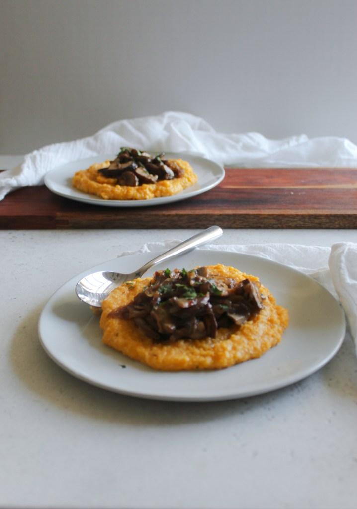 Mushroom & Shallot Polenta