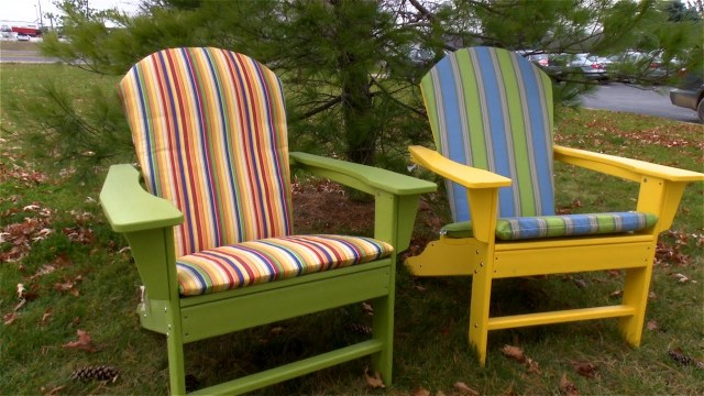 Adirondack Chair Cushion Sewing Pattern How To Make An Adirondack Chair Cushion Youtube
