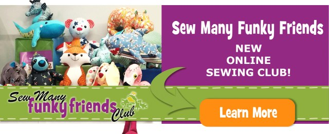 Animal Sewing Patterns Funky Friends Factory Stuffed Animal Sewing Patterns E Patterns