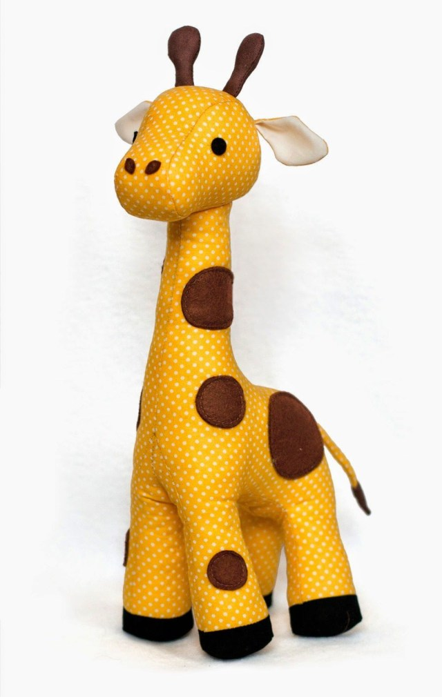 Animal Sewing Patterns Giraffe Sewing Pattern Zabawki Pinterest Sewing Sewing