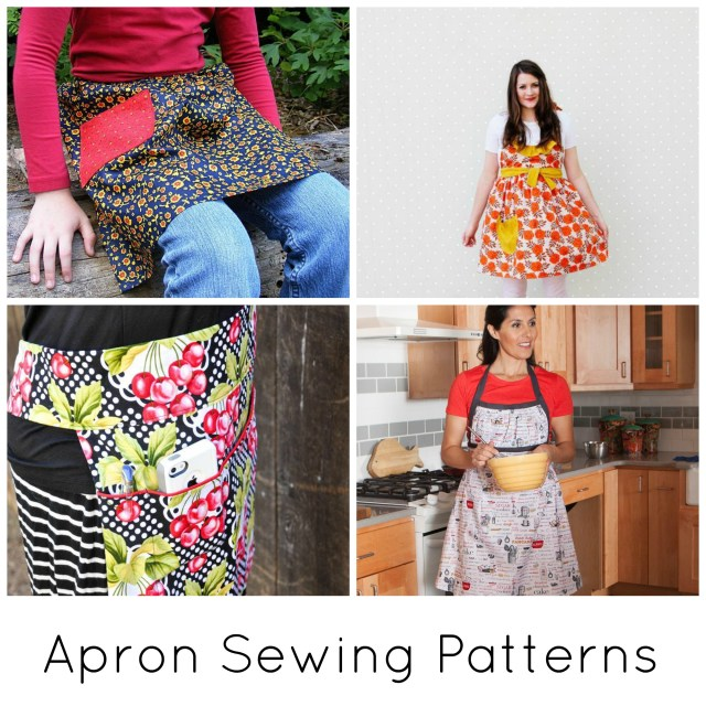 Apron Sewing Pattern 9 Pretty Apron Patterns On Craftsy