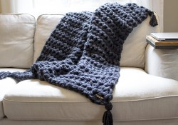 Arm Crochet Blanket Diy How To Hand Crochet A Blanket In One Hour Simplymaggie
